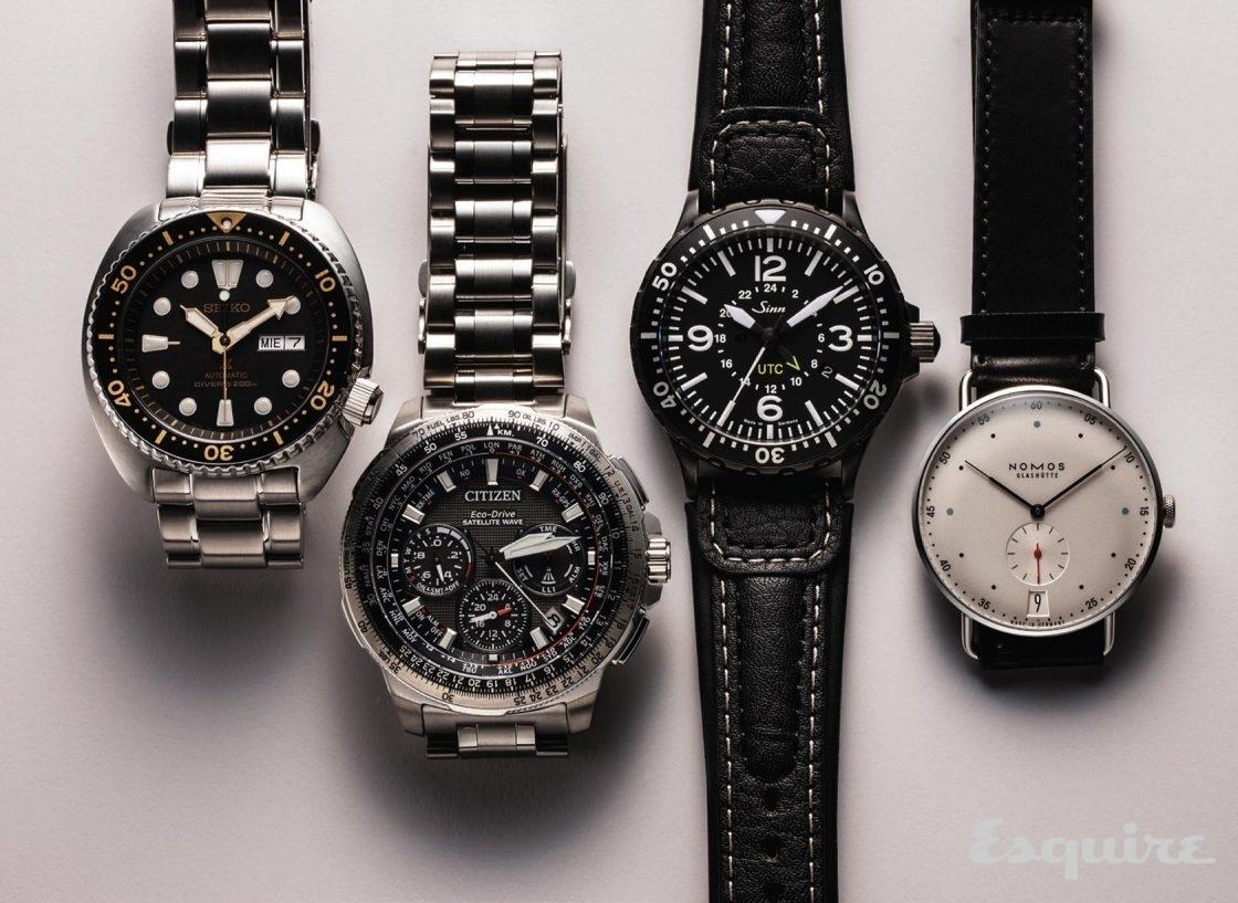 스위스 밖의 고급 시계 - Esquire 2016년 9월호