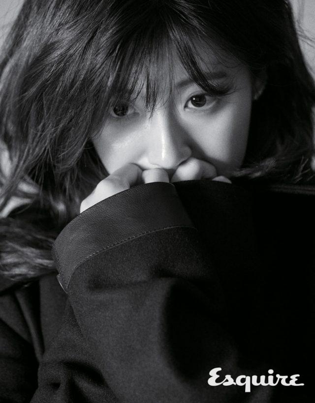남지현, 생각에 잠긴 - Esquire Korea 2016년 9월호