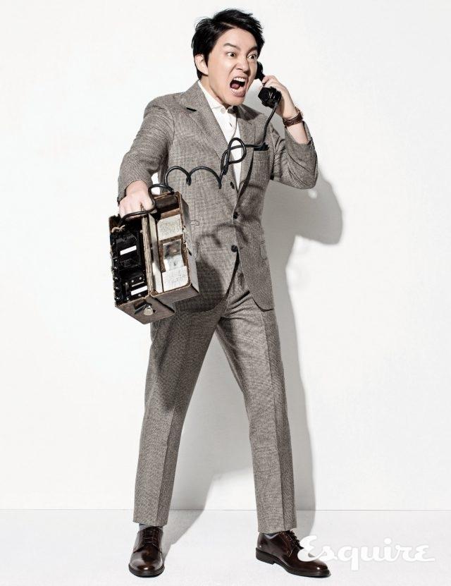 이범수는 계속 개선했다 - Esquire Korea 2016년 8월호