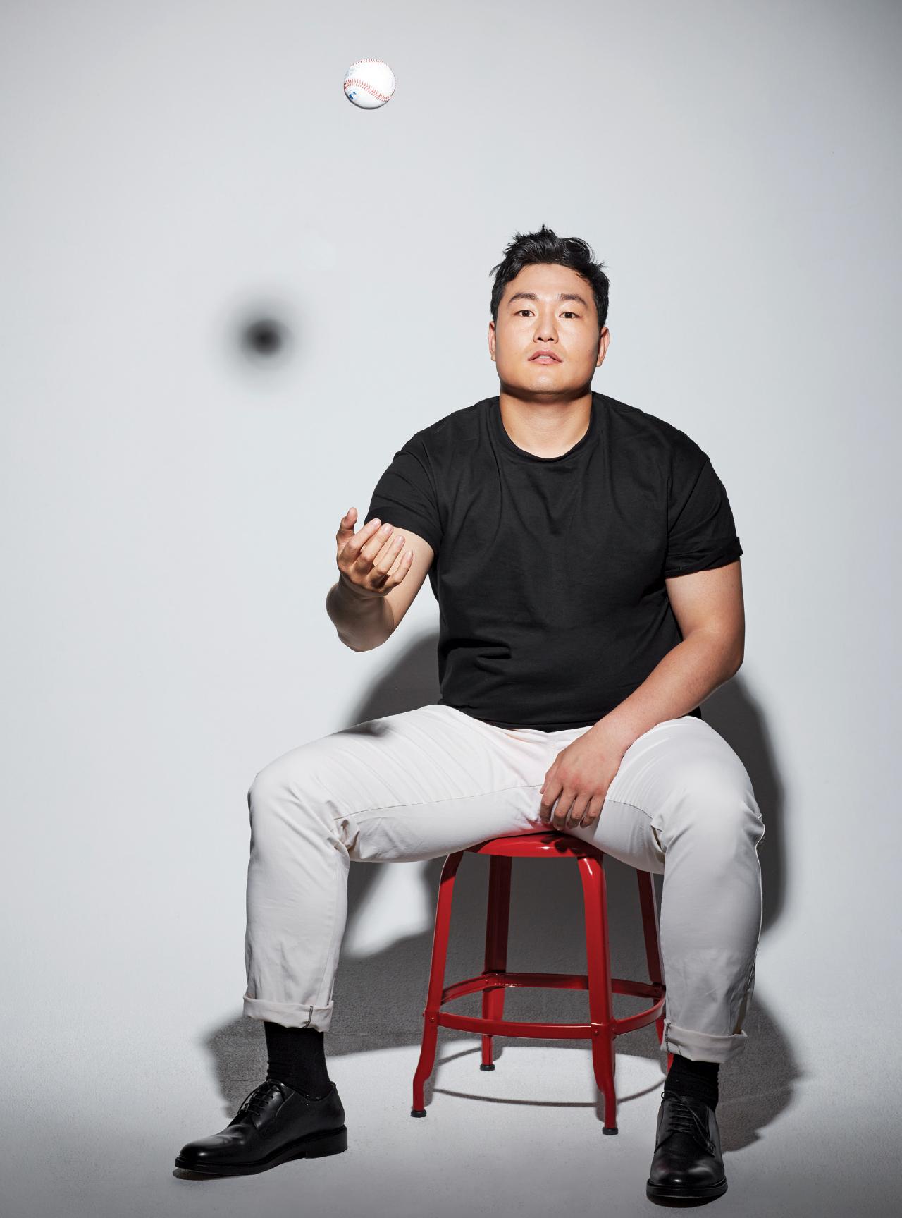 최지만은 상상하고 극복한다 - 에스콰이어 코리아 Esquire Korea 2016년 12월