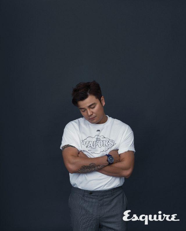 누군가에게기억되는 시간, 추신수 - 에스콰이어 Esquire Korea 2017년 1월호