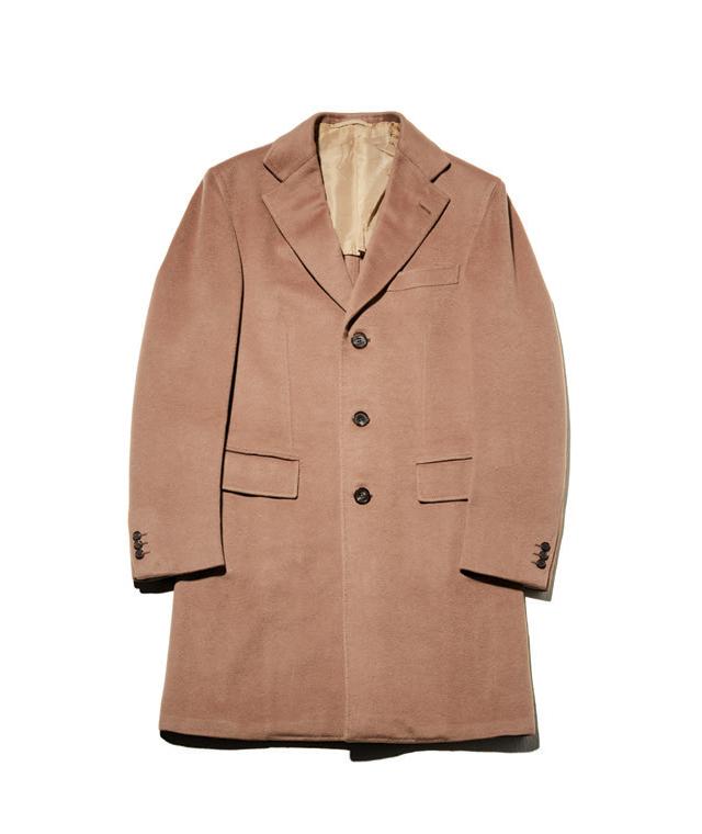 베이지색 캐시미어 코트 1380만원 브리오니.