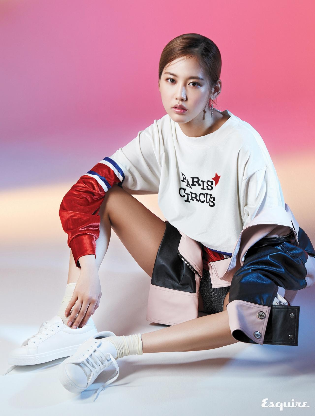육지담, 2017'S RAISING STAR - 에스콰이어 Esquire Korea 2017년 2월호