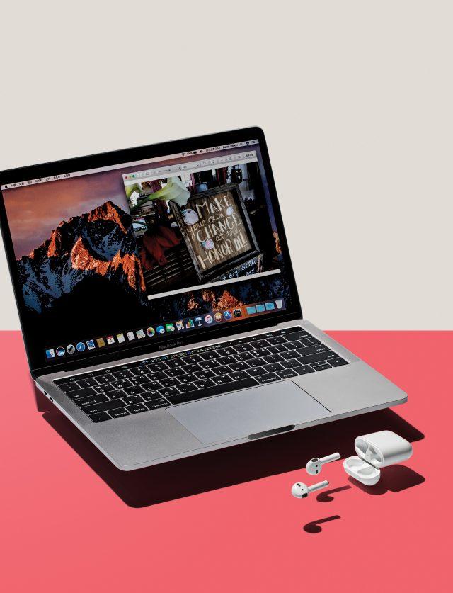 (맥북 프로) 13인치(터치 바) 229만~249만원, 15인치(터치 바) 299만~352만원. www.apple.com/kr / (에어팟) 21만9000원.