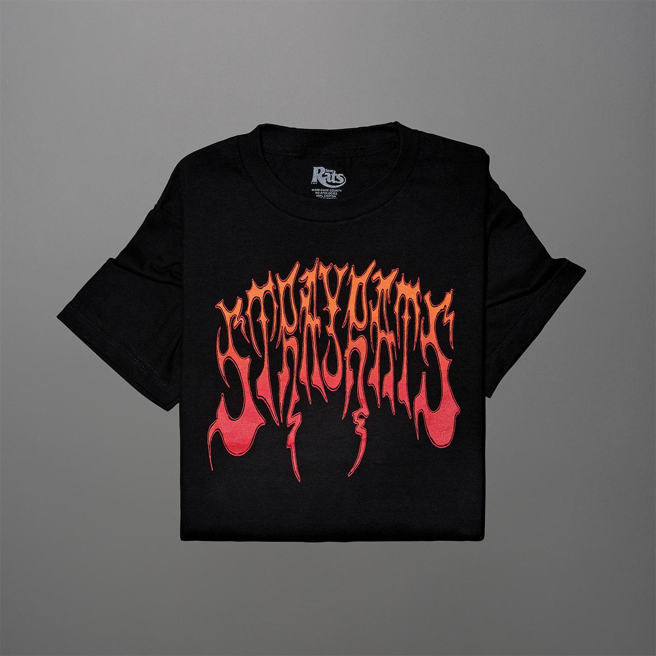 헤비메탈풍의 티셔츠 7만9000원 스트레이 랫츠 by 스컬프.