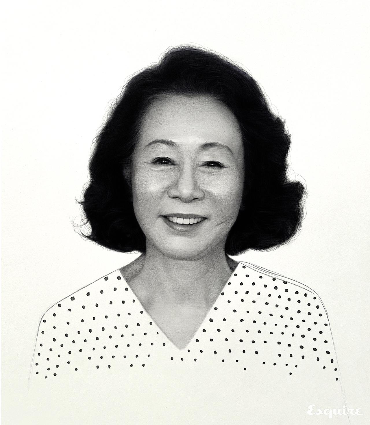 윤여정 - 에스콰이어