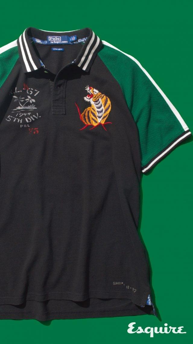 수부니어 재킷에서 영감을 받은 폴로셔츠 29만원 폴로 랄프로렌. 7월 출시