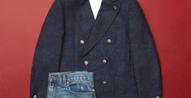 플라워 패턴 자카르 재킷 157만원 라르디니 by 신세계 인터내셔날.