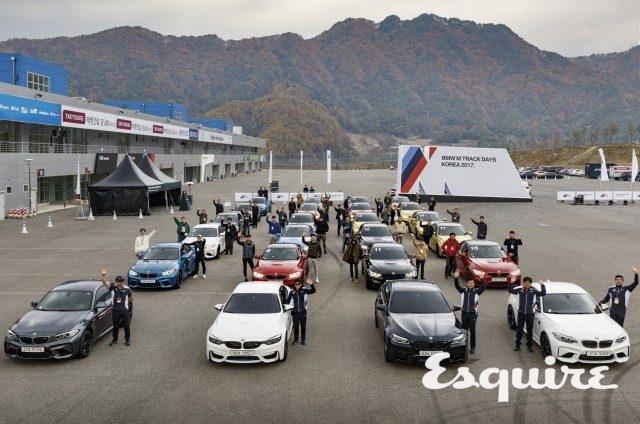이번 BMWM 트랙 데이엔 M3, M4뿐만 아니라 신참 M2쿠페까지 합류했다.