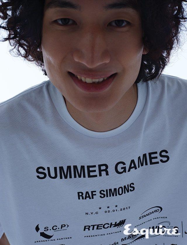 티셔츠 45만원 라프 시몬스 by 10 꼬르소 꼬모.
