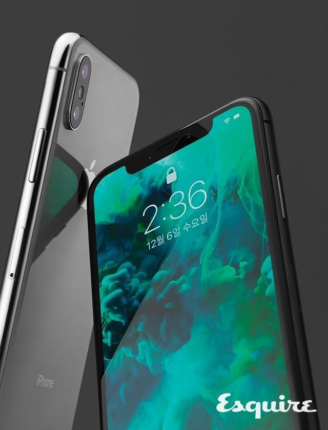 애플 아이폰X색상 스페이스 그레이, 실버 / 무게 174g /저장 용량 64GB, 256GB / 가격 142만원, 163만원