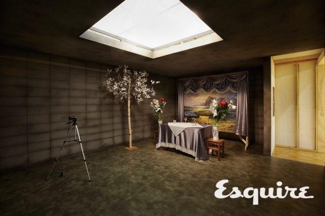 문화창조원 복합5관에서 열린  전시장. 박찬욱 감독의 단편영화 가 최초로 공개됐다.