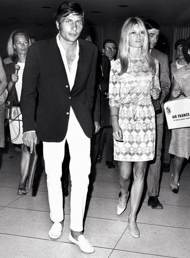 건터 삭스 & 브리지트 바르도, 1966년, 로스앤젤레스