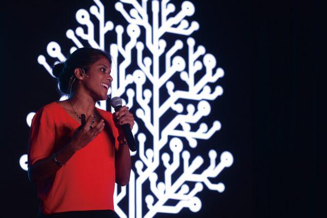 스리랑카의 해양생물학자 아샤 데 보스