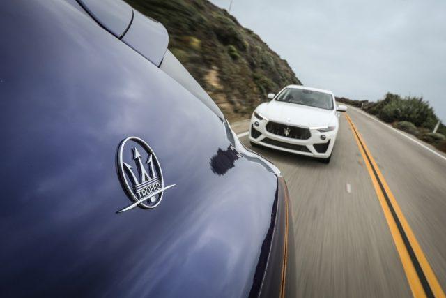 Maserati Levante GTS엔진 V8 3.8L 트윈 터보 | 최고 출력 550마력 | 최대 토크 74.4kg·m | 변속기 자동 8단 | 크기 5020×1968×1698mmMaserati Levante Trofeo엔진 V8 3.8L 트윈 터보 | 최고 출력 590마력| 최대 토크 74.4kg·m| 변속기 자동 8단| 크기 5003×1968×1679mm