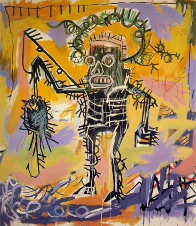 Fishing, 1981 @Basquiatart