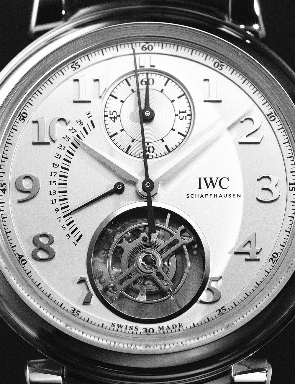 IWC다빈치 투르비옹 레트로그레이드 크로노그래프 1억원대.
