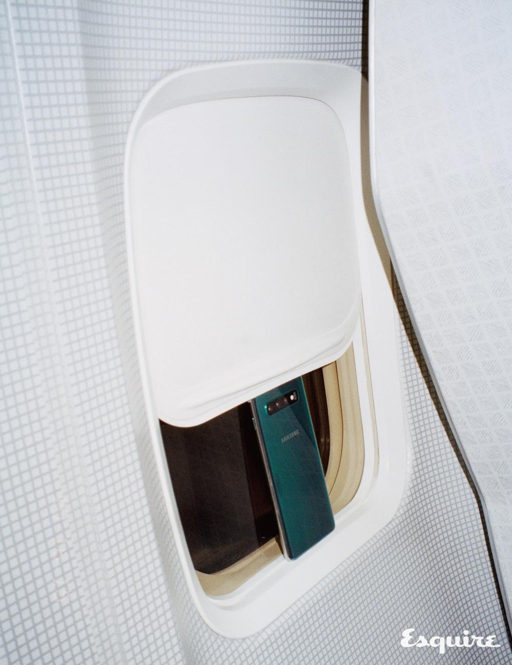 프리즘 그린 색상 갤럭시 S10 삼성전자.