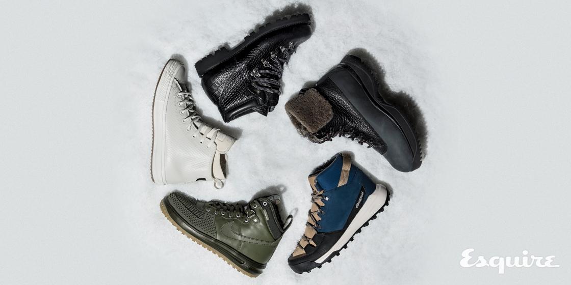 최고로 따뜻한 한겨울 신발 다섯.