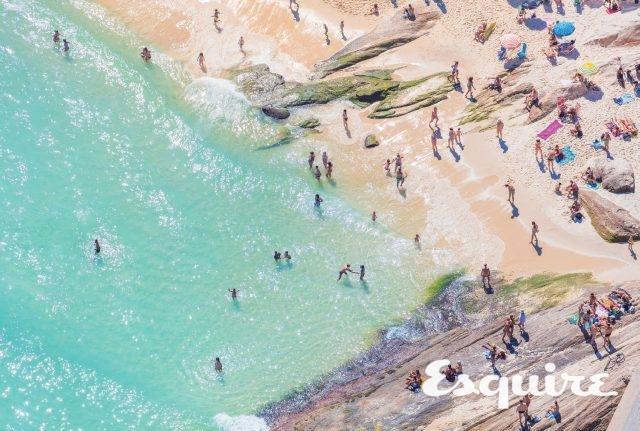 'Arpoador Beach', 2015. 그레이 멀린.