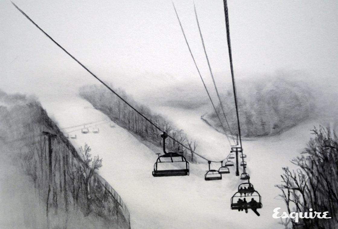 스키장 에티켓은 결국 안전을 위한 것 - 에스콰이어 Esquire Korea 2017년 1월호