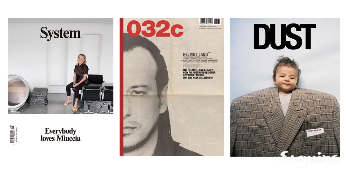패션 잡지의 표지가 변화하고 있다. 분명 색다르다.