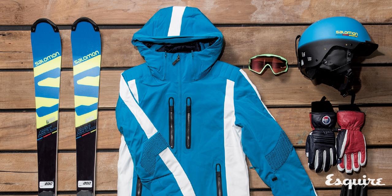 스키와 스노보드 장비에 맞춘 기능성 의류 제안.