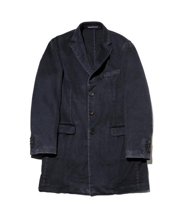 남색 캐시미어 워싱 코트 가격 미정 브로이어.