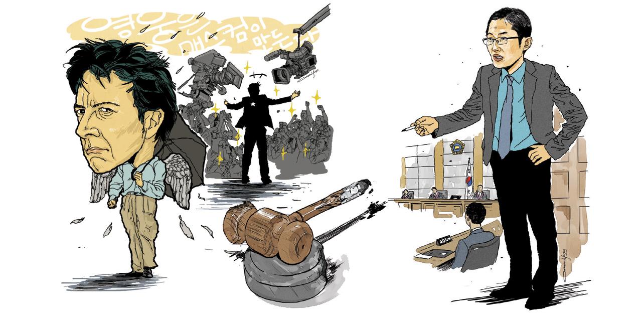 대한민국 사법 체계와 맞선 박준영 변호사는 본래 세속적이었다고 말했다.