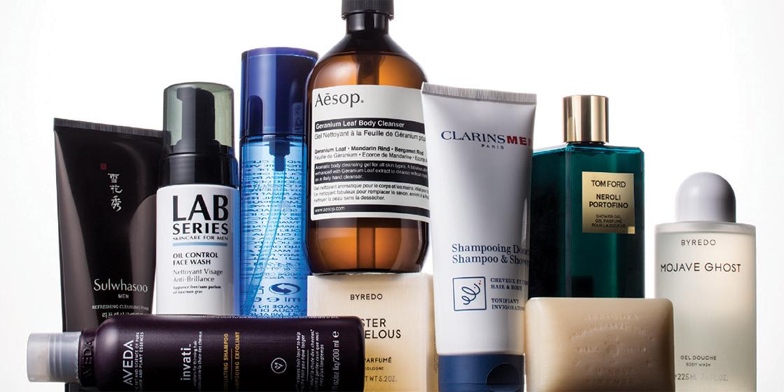 머리부터 발 끝까지, 깨끗하게 씻겨주는 샤워 제품들.
