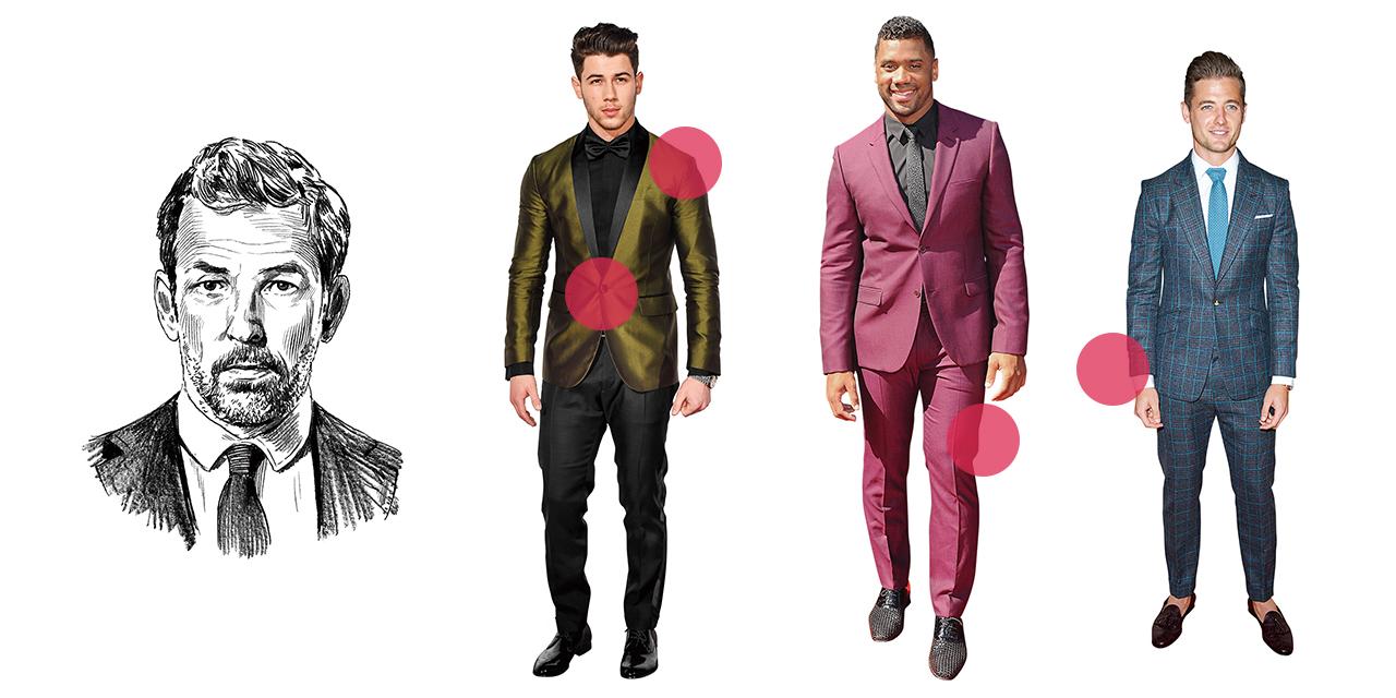 많은 남자들의 슈트 입은 모습이 마치 소시지 같다. 왜일까?