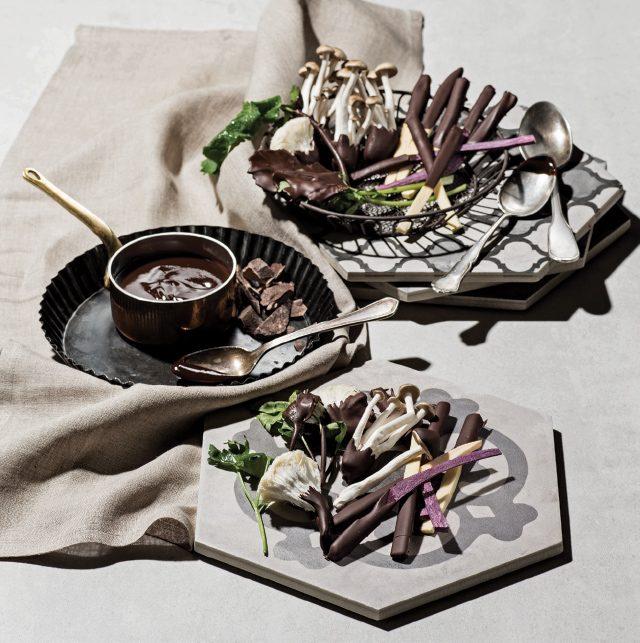 특별한 초콜릿 요리 - 에스콰이어 Esquire Korea 2017년 2월호