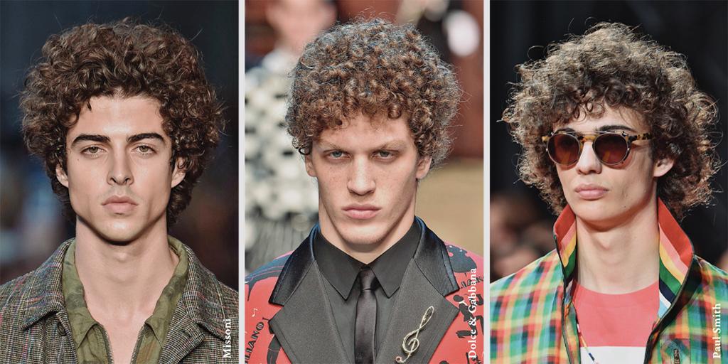 2017 S/S 컬렉션의 런웨이를 주름 잡은 남자 모델들의 네 가지 헤어스타일.