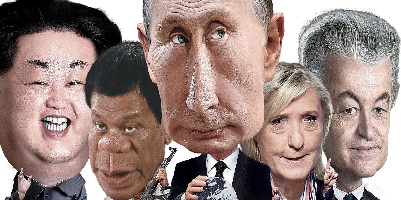 증오와 공포를 부추기는 우익 정치가들이 득세하는 전세계의 살풍경.