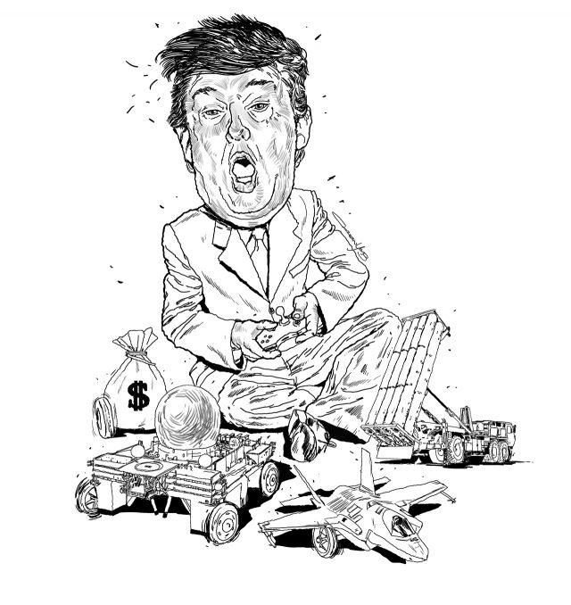 트럼프의 미국이 한반도를 조준한다 - 에스콰이어 코리아 2017년 3월호