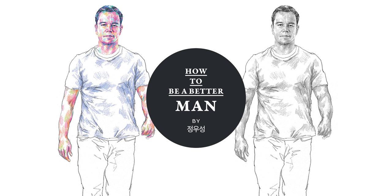 맷 데이먼은 자신의 몸을 통해 세월에 맞서고 있다.