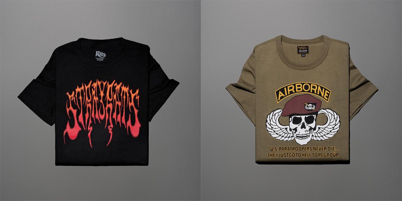 1990년대풍 프린트 티셔츠가 주는 해방감.