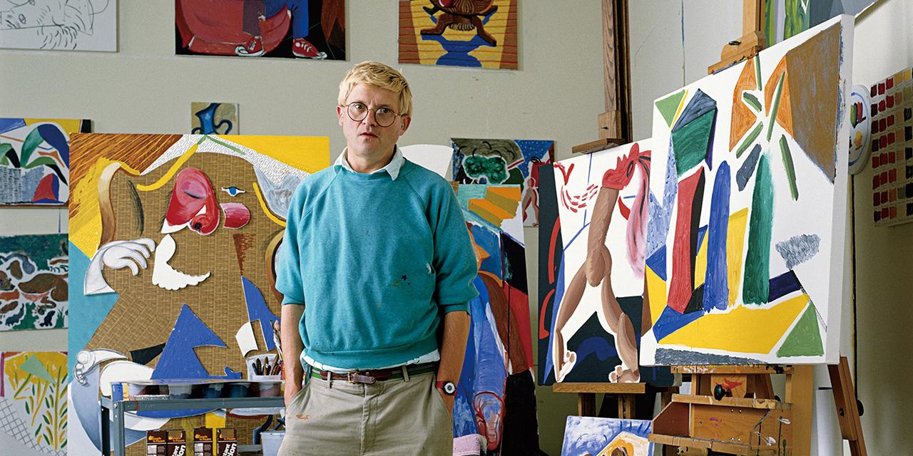영국의 팝 아트 화가 데이비드 호크니가 말하는 예술적인 인생.