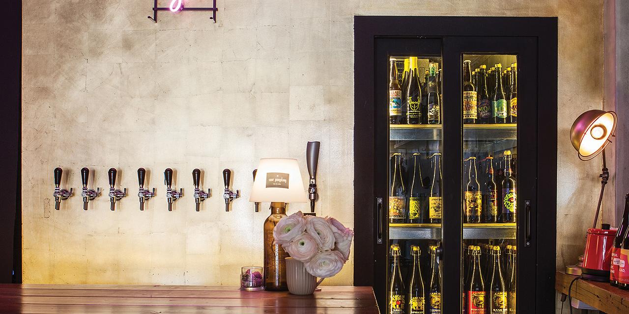 사우어퐁당은 오직 사워 맥주만 판매한다.