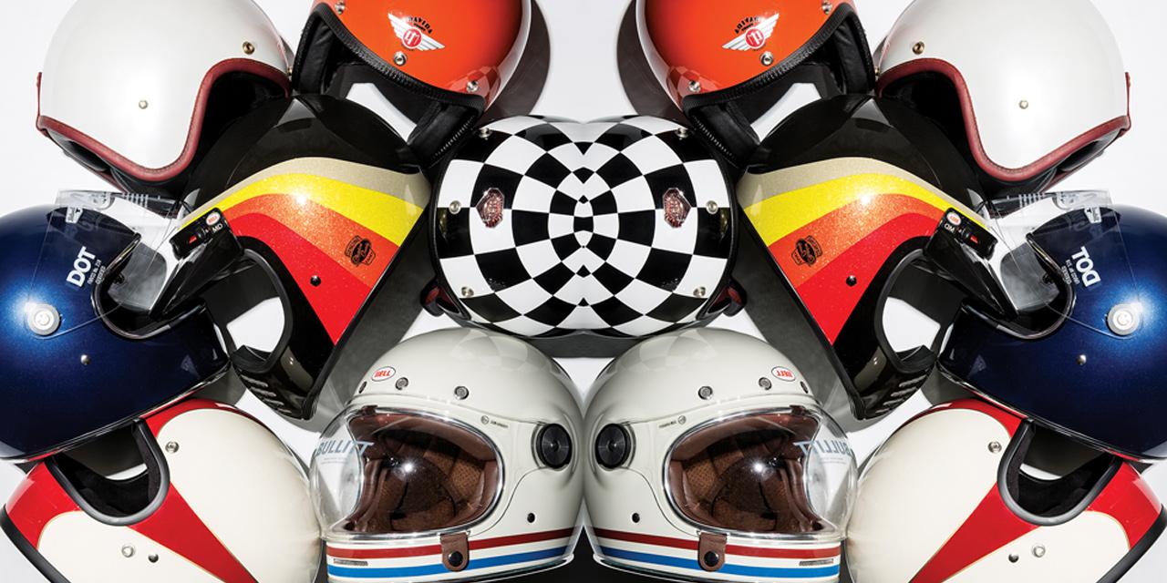 디자인만으로 소장 가치가 충분한 헬멧 7.