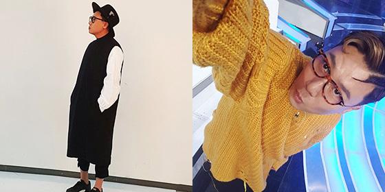 돈은 없어도 폼나는 사나이, 이상민의 패션.