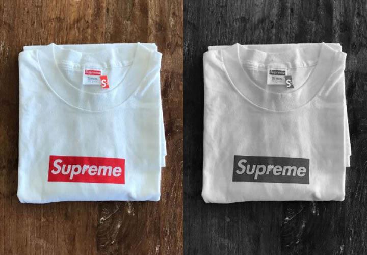 재테크는 슈프림으로. 슈프림의 이 로고 티셔츠는 가격이 135배나 올랐다.