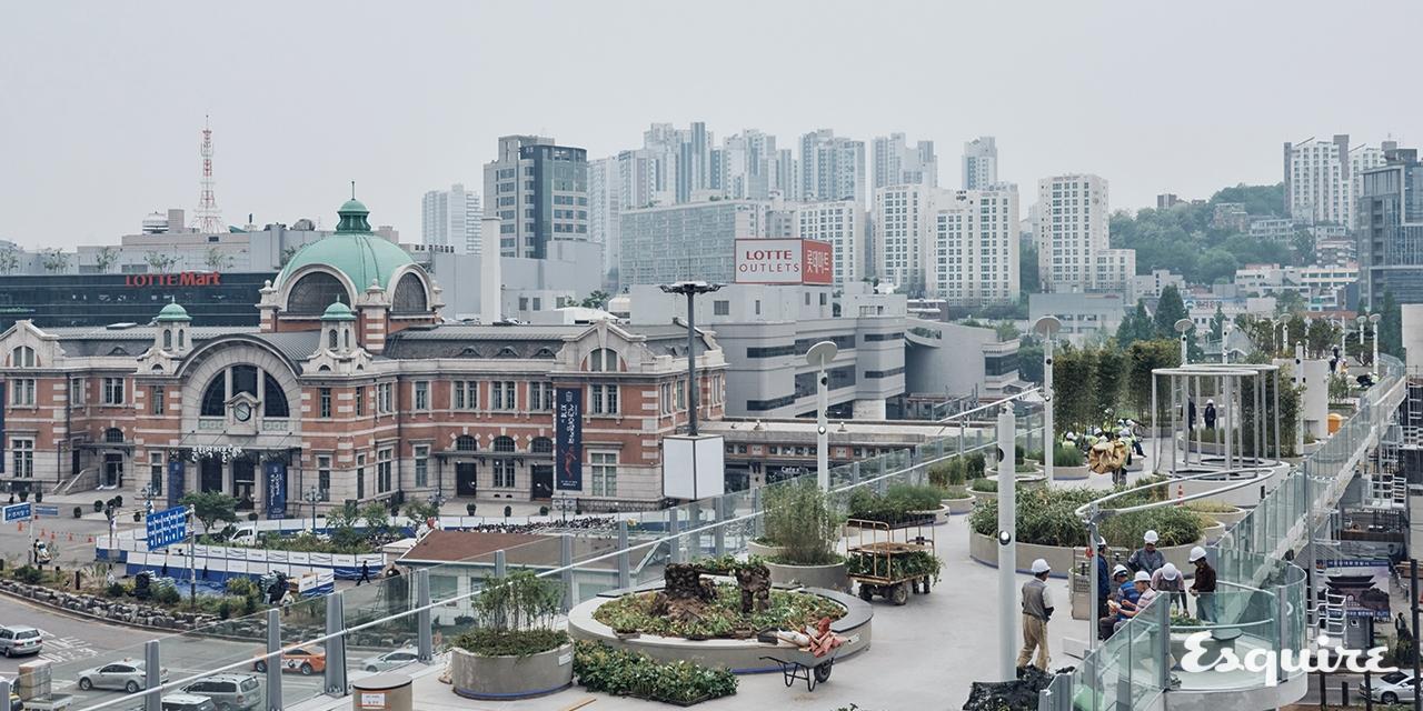자동차의 길에서 사람의 길로, 서울로 7017의 과거와 현재와 미래.