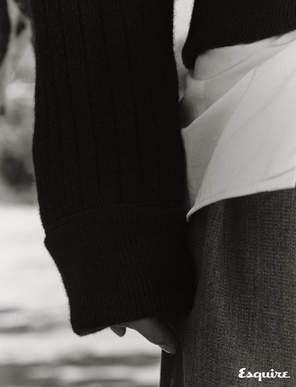 니트, 셔츠, 바지 모두 가격 미정 루이비통.