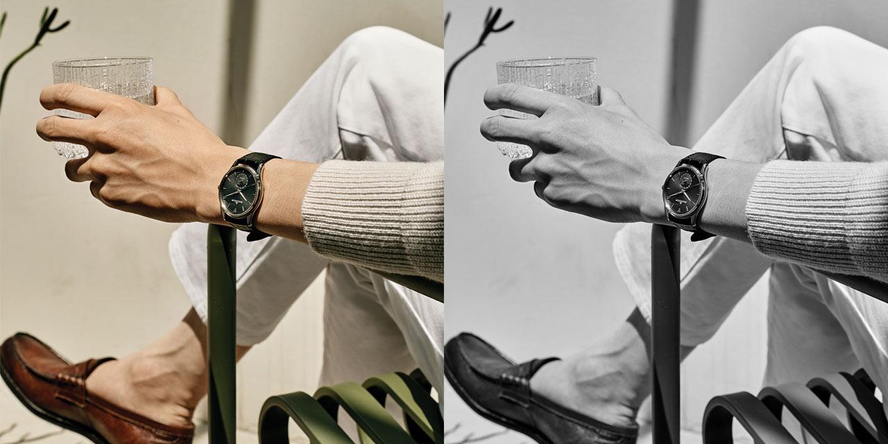 손목시계로 시간을 읽는다. 시간의 가치를 알기에.