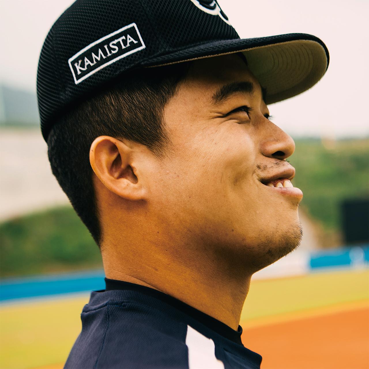 "<strong>동주봉(66번, 1991년생), 외야수</strong><br/> ""야구라는 거, 운동장 있는 게 행복해서 지금도 나오면 그냥 재미있어요. 잘되든 안되든. 앞으로 제가 좋아하고 행복할 수 있는 걸 해야 해서 프로로 가야 될 것 같아요."""