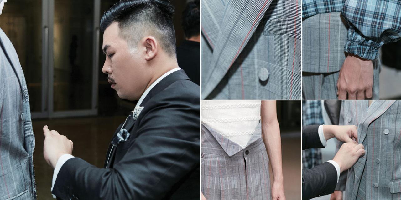 7월 10일 서울 호림아트센터에서 열린 울마크 프라이즈 아시아 대회의 남성복 우승자 식스 리를 만났다.