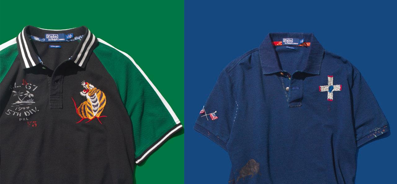 폴로 랄프 로렌이 작정하고 특별한 폴로 셔츠를 만들었다.