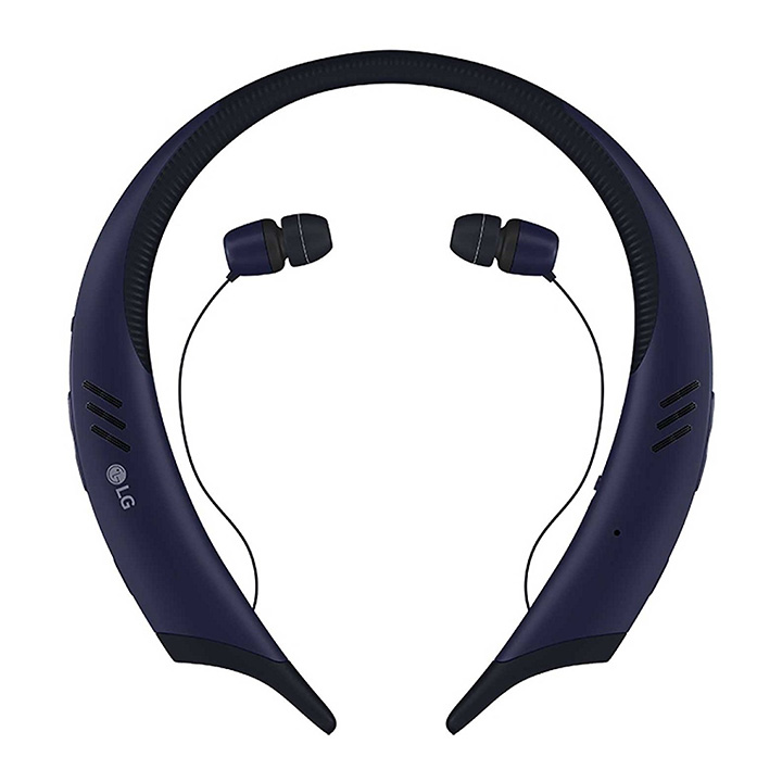 <b>21. LG Tone Active+</b>   LG 톤 액티브+ 무선 이어폰은 IPx4 라는 물과 땀에 강한 재질로 만들어졌으며 한번 충전으로 최장 13시간까지 음악을 즐길 수 있는 이어폰이다. 이 이어폰의 하드웨어 역시 놀라운데 – 뛰어난 사운드와 마이크뿐만 아니라 외장 스테레오 스피커가 장착되어 있다. 20만원대