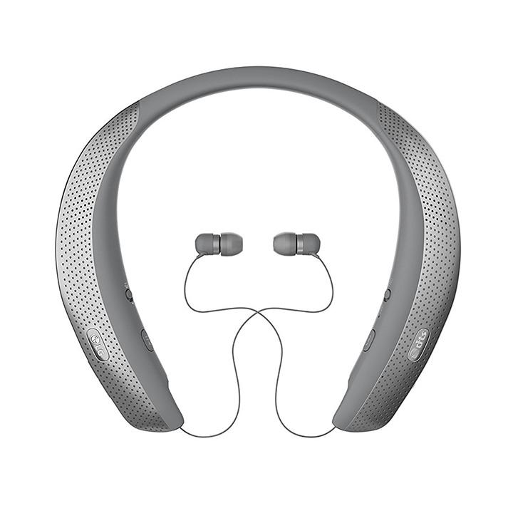 <b>7. LG Tone Studio HBS-W120</b> LG 톤 스튜디오 HBS-W120보다 기술적으로 발달된 이어폰을 찾기란 어려울 것이다. 블루투스의 한계를 넘었다는 극찬도 있다. 햅틱 베이스 엔진과 DTS에서 조정된 사운드가 4중 스피커로 구현된다. 햅틱 베이스 엔진은 음악을 실제로 느낄 수 있을 정도의 경험을 선사한다. 17만원~